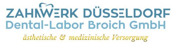 Das Logo des Dentallabors Zahnwerk in Düsseldorf.